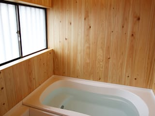 Modern Bathroom by 遠藤浩建築設計事務所 H,ENDOH ARCHTECT & ASSOCIATES Modern