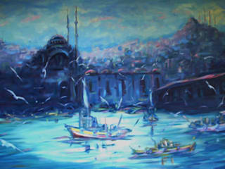 Ressam Bayro(Bayram SALTABAŞ) – EMPRESTYONİZM:  tarz