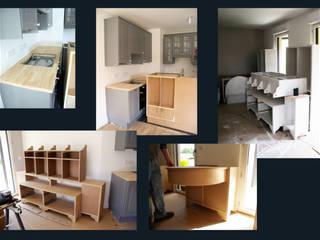 English country style appartement par I.D.E.E Classique