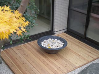 courtyard N Кабинеты врачей в стиле модерн от 山越健造デザインスタジオ Kenzo Yamakoshi Design Studio Модерн