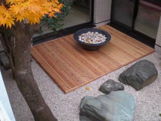 courtyard N Moderne Praxen von 山越健造デザインスタジオ Kenzo Yamakoshi Design Studio Modern