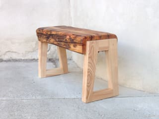 Banc en bois massif:  de style  par Melcréationsbois