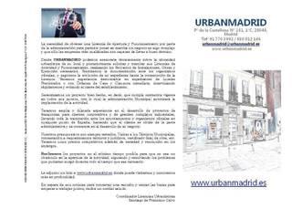 LICENCIAS DE APERTURA Y FUNCIONAMIENTO Estudios y despachos de estilo clásico de URBANMADRID Clásico