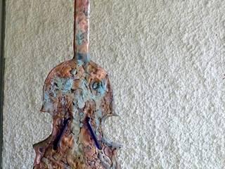 Violon:  de style  par ROJO  Sculpture cuivre bronze