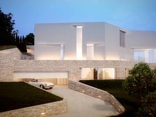 Casas de estilo mediterráneo de Lemons Bucket Mediterráneo