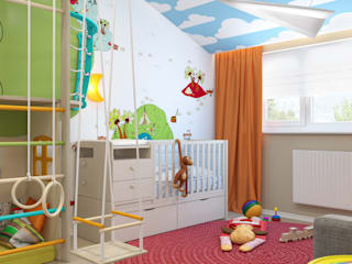 Eclectic style nursery/kids room by VAE DESIGN GROUP™ Eclectic