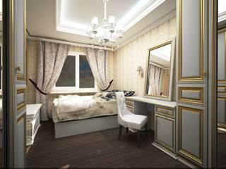 Классика на Бунинских аллеях Спальня в классическом стиле от Veronika Brown Studio Классический