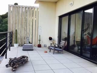 Aménagement terrasse par In&Out Garden Méditerranéen