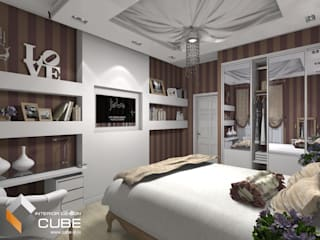Bedroom by Лаборатория дизайна 'КУБ', Classic