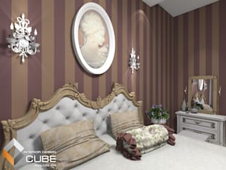 Classic style bedroom by Лаборатория дизайна 'КУБ' Classic