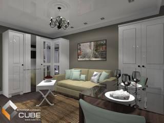 Living room by Лаборатория дизайна 'КУБ', Colonial