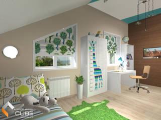 Лаборатория дизайна 'КУБ' Dormitorios infantiles de estilo tropical