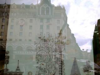 Ювелирный бутик JOO Москва ул. Петровка 2008 г.: Коммерческие помещения в . Автор – kofostudio