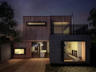 Industrial style houses by Lemons Bucket Industrial
