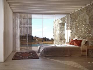 Tropical style bedroom by Lemons Bucket Tropical