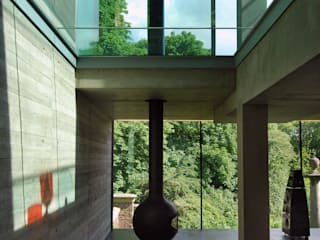 House in Highgate Cemetery:  Living room by Eldridge London