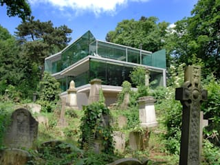 House in Highgate Cemetery:  Houses by Eldridge London