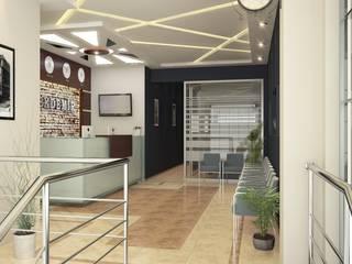 ROAS ARCHITECTURE 3D DESIGN AGENCY Edificios de Oficinas