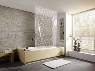 Coquillage et crustacés...: Salle de bain de style de style eclectique par Salle de Bains Déco.com