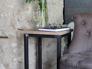 Bout de canapé - Table de chevet - Tabouret d'appoint - Un meuble 3 en 1 par Du Côté de l'Atelier Classique