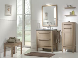 Country style bathrooms by F&F Floor and Furniture Country