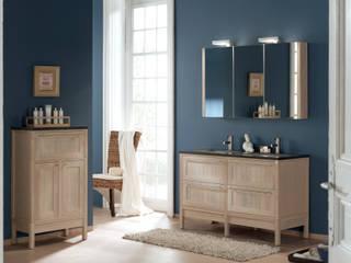 F&F Floor and Furniture Scandinavian style bathroom