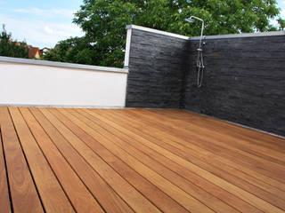 Kahrs GmbH Tropical style balcony, veranda & terrace