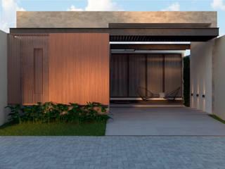 Residência AEF+: Casas  por Quattro+ Arquitetura