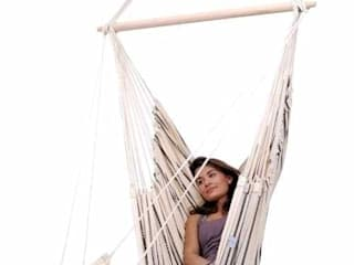 Brasil Cappuccino Hanging Chair:   by Hammock Time,