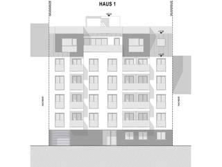 WHA Kreuzgasse: modern  von Angst Architektur ZT GmbH,Modern