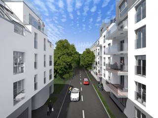 WHA Kreuzgasse Moderne Häuser von Angst Architektur ZT GmbH Modern