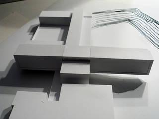 Wettbewerb Oberstufenrealgymnasium : modern  von Angst Architektur ZT GmbH,Modern