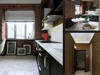 Интерьер с индивидуальностью: Кухни в . Автор – Architectural Bureau DAOFORM