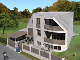 EFH Reichergasse: modern  von Angst Architektur ZT GmbH,Modern