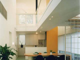 王禅寺の家: 加藤將己/株・将建築設計事務所が手掛けたリビングです。