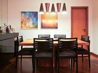 AP FT: Salas de jantar  por KFOURI ZAHARENKO arquitetura e design,Moderno
