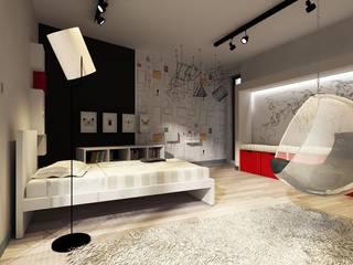 Pokój dziecka Otwock od Projektowanie Wnętrz Suspenzo