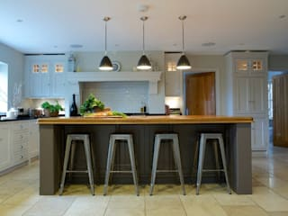 Chadwick House | Grey Painted Contemporary Country Kitchen Dapur Gaya Country Oleh Humphrey Munson Country