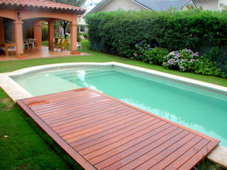 Piscinas Scualo Pool Wood Wood effect