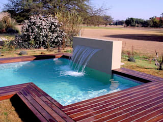 Piscinas Scualo Modern Pool Solid Wood Wood effect