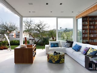 Living room by andre piva arquitetura
