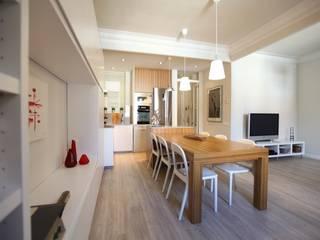 Modern living room by GPA Gestión de Proyectos Arquitectónicos ]gpa[® Modern