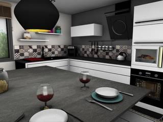 MAISON DE MONTAGNE PYXIS Home Design Cuisine moderne