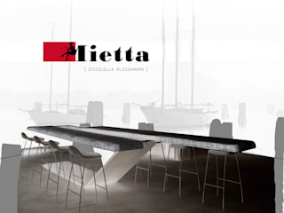 MIETTA - Table à manger par A.zetaDESIGN Moderne