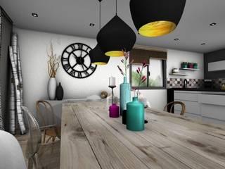 MAISON DE MONTAGNE PYXIS Home Design Salle à manger scandinave