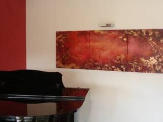 dipinti su legno di I FRUTTI DEL FUOCO - Art Studio Moderno