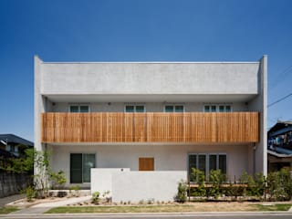 木の家プロデュース 明月社 Casas de estilo ecléctico