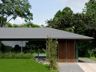 M-HOUSE トロピカルな 家 の 3*D空間創考舎一級建築士事務所 トロピカル
