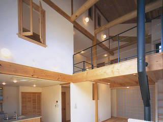 和邇の家(S邸新築工事) モダンデザインの ダイニング の 有限会社 起廣プラン 一級建築士事務所 モダン