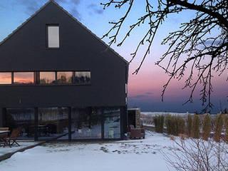 Faszination Haus  -  Passivhaus in Kleinkarlbach :  Terrasse von Architekturbüro für Passiv- und Energieplushäuser